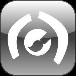 Stereoscope Paint Logo